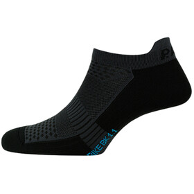 P.A.C. BK 1.1 Bike Footie Zip Socks Herr black